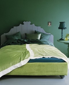 Green Interior Paint Colour