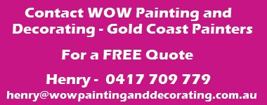 Gold Coast Painters - Wow Painting and Decorating - Quote Box